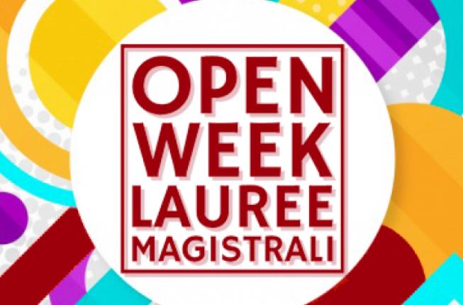 Collegamento a Open Week Lauree Magistrali - 17/21 maggio 2021