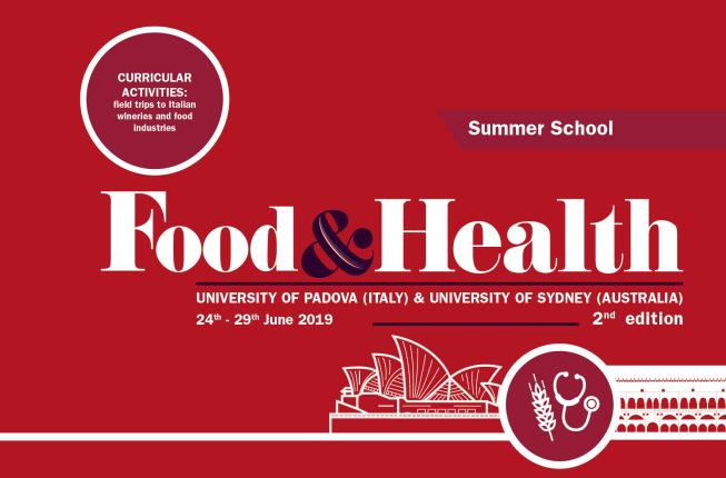 Collegamento a Summer School - Food&Health