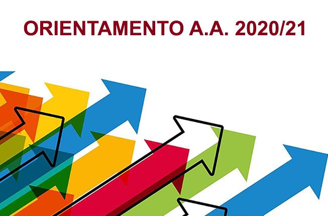 Collegamento a Orientamento alla scelta del Corso di Laurea AA 2020/21